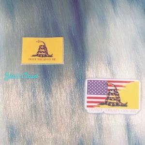 Homemade Patriotic Stickers 🇺🇸